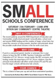 Small School Conference Flyer
