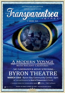 The Transparentsea Voyage – The Movie ' A Modern Voyage with Ancient Creatures ' + Live Acoustic Performance Presented by Surfers for Cetaceans @ Byron Theatre | Byron Bay | New South Wales | Australia