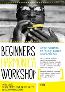 Beginners Harmonica Workshop Presented by Mr. Harmony @ Byron Community Centre | Byron Bay | New South Wales | Australia
