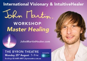 Master Healing Presented by John Martin @ The Byron Theatre | Byron Bay | New South Wales | Australia