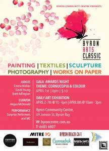 Byron Arts Classic Gala Awards Night 2015 @ Byron Community Centre | Byron Bay | New South Wales | Australia