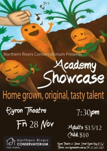 Academy Showcase Presented by Northern Rivers Conservatorium @ Byron Theatre | Byron Bay | New South Wales | Australia