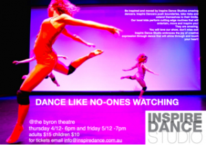 Dance Like No-One's Watching Presented by Inspire Dance Studio @ Byron Theatre | Byron Bay | New South Wales | Australia