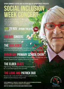 Social Inclusion Week Fundraising Concert Presented by Byron Community Centre @ Byron Theare | Byron Bay | New South Wales | Australia