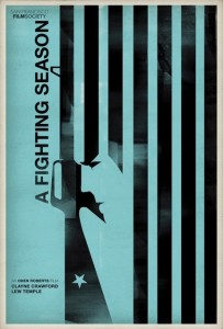 A fighting season poster