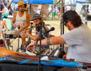 OKA, Guy Kachel and Dave Johnson @ Beachside Markets | Byron Bay | New South Wales | Australia