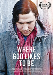 where god likes to be poster