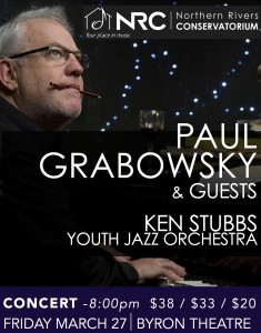 Paul Grabowsky & Guests Presented by Northern Rivers Conservatorium @ Byron Theatre | Byron Bay | New South Wales | Australia