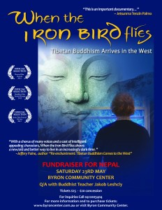 Help Nepal: 'When the Iron Bird Flies' @ Byron Theatre | Byron Bay | New South Wales | Australia