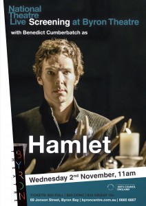 Hamlet - National Theatre Live Screening, starring Benedict Cumberbatch, presented by Byron Theatre @ Byron Theatre