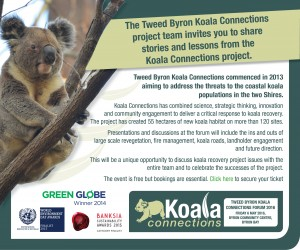 KOALA CONNECTIONS Presented by Tweed Byron Council @ Byron Theatre