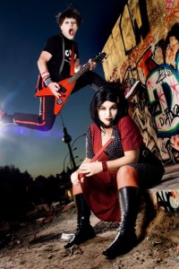 Otto & Astrid in SUPERMUSICIAN by Die Roten Punkte presented by Byron Theatre & Critical Stages @ Byron Theatre