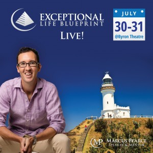 Exceptional Life Blueprint LIVE presented by Marcus Pearce @ Byron Theatre