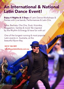 12th Annual Byron Latin Fiesta – Dance Party @ Byron Community Centre