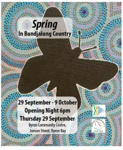 Spring in Bundjalung Country 2016 - Art Exhibition @ Byron Community Centre - Cavanbah Room