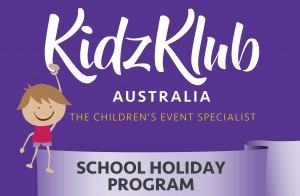 KidzKlub Spring School Holiday Program presented by Kidzklub Australia & Byron Community Centre @ Byron Community Centre Verandah Room (UPSTAIRS)