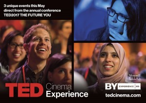 TED2017: The Future You - Opening Event presented by Byron Theatre @ Byron Theatre