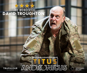 Titus Andronicus – RSC Live Screening from Stratford-upon-Avon presented by Byron Theatre @ Byron Theatre