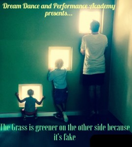 The Grass is greener on the other side because it's fake Presented by Dream Dance and Performance Academy @ Byron Theatre | Byron Bay | New South Wales | Australia