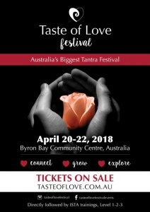 Taste of Love Festival 2018 @ Byron Theatre