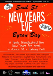 Soul Street New Year's Eve 2016 @ Jonson Street | Byron Bay | New South Wales | Australia