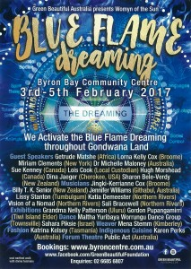 Blue Flame Dreaming - 3 DAY PASS - Presented by Green Beautiful Foundation @ Byron Community Centre
