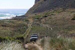 THE WATERS FAMILY 4WD LOOKING FOR WAVES, SOMEWHERE IN TASMANIA