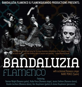 Bandaluzia Flamenco with NAIKE PONCE (SPAIN) Presented by Bandaluzia Flamenco & Flamenqueando Productions @ Byron Theatre