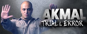 Akmal - Trial and Error presented by A-List Entertainment @ Byron Theatre