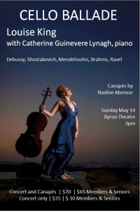 Cello Ballade Concert featuring Louise King