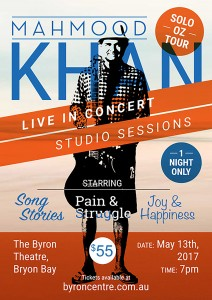 Mahmood Khan Live Presented by Loud Junction @ Byron Theatre
