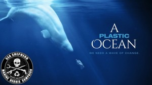 A Plastic Ocean poster image with Sea Shepard logo