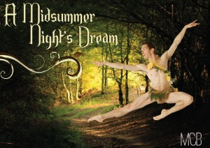 A Midsummer Night's Dream Presented by Melbourne City Ballet @ Byron Theatre