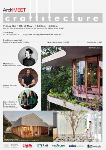 ArchiMEET Flyer Byron Bay