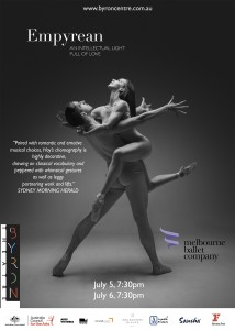 Empyrean presented by Melbourne Ballet Company @ Byron Theatre | Byron Bay | New South Wales | Australia