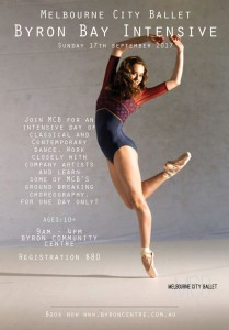 Byron Bay Intensive - Dance Workshop with Melbourne City Ballet @ Byron Theatre