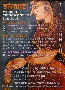 The Shakti Women's Empowerment Festival – The Art of Expression Workshop presented by ARD(Australia) Inc. @ Byron Theatre