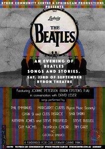 **SOLD OUT** An Evening of Beatles Songs and Stories presented by Springcam Productions & Byron Community Centre @ Byron Theatre