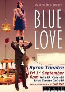 Blue Love presented by Byron Theatre and Shaun Parker & Company @ Byron Theatre