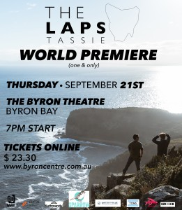 The Lap of Tassie - World Premiere + Q&A presented by Switchboard Media Group @ Byron Theatre