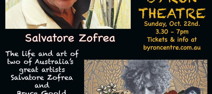 #brilliantartists #brilliantartistsfilms #salvatorezofrea #zofrea #brucegoold #goold #art #films #artfilms #byrontheatre @byrontheatre #byronbay #richardmordaunt #billleimbach