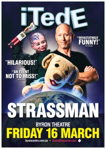 "STRASSMAN'S ""iTedE"" presented by RockCity @ Byron Theatre"