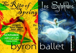 Double Bill: Les Sylphides & Rites of Spring by Byron Ballet