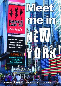 Dance Lab AU - Meet Me In New York - at Byron Theatre
