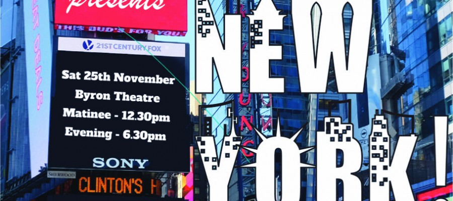 Meet Me In New York presented by Dance Lab Australia at Byron Theatre