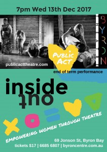 Inside Out presented by Public Act Theatre @ Byron Theatre