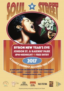 Soul Street NY Eve 2017 presented by Byron Community Centre @ Byron Community Centre