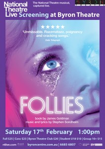 Follies - National Theatre Live Screening presented by Byron Theatre @ Byron Theatre