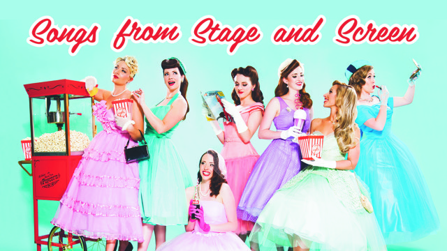 Songs from Stage and Screen: A New Musical featuring The 7 Sopranos at Byron Theatre