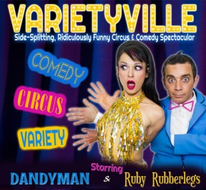 Varietyville presented by Varietyville Productions @ Byron Theatre